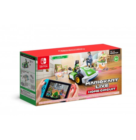 Mario Kart Live Home Circuit LUIGI car play set