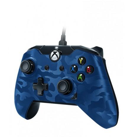 PDP Xbox One laidinis valdiklis (Camo Blue)