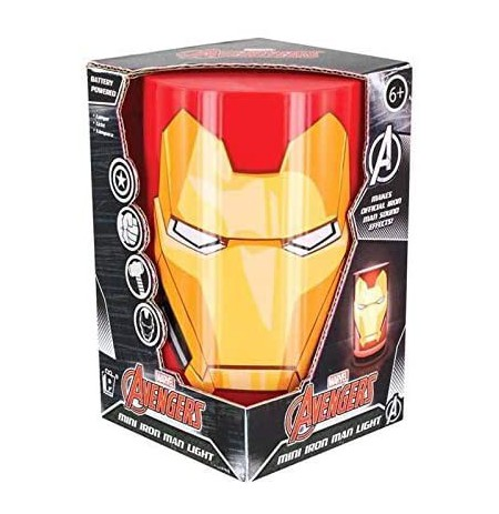 Marvel Avengers Mini Iron Man lempa 11cm