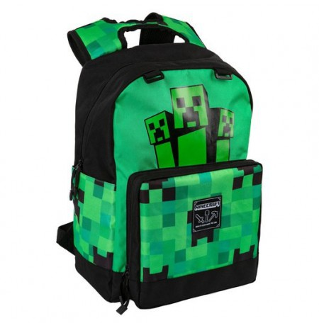 Minecraft Creeper Fatigued Again Backpack