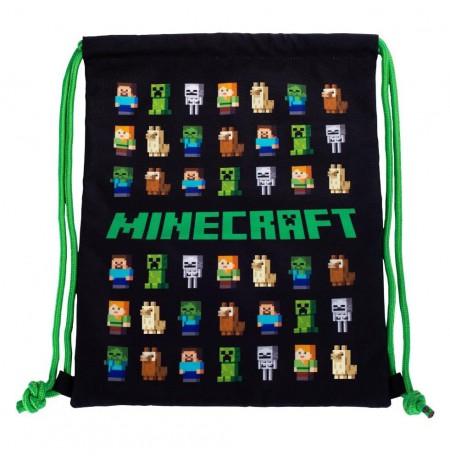 Minecraft gym bag