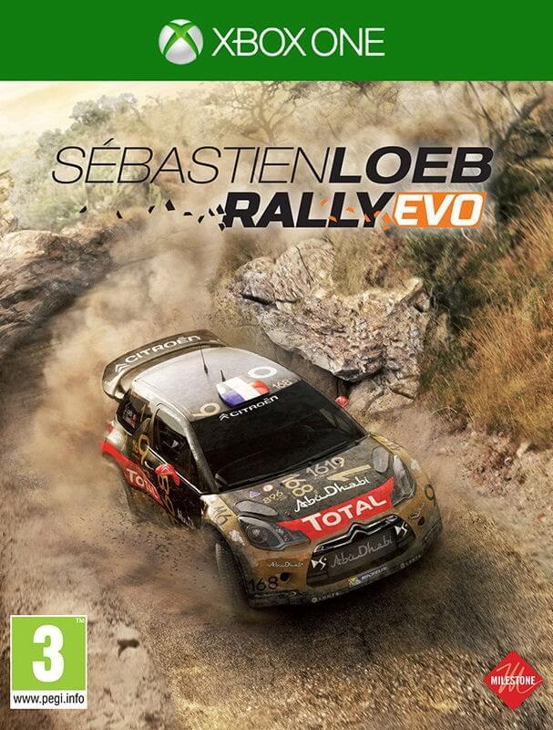 Sebastien Loeb Rally EVO XBOX