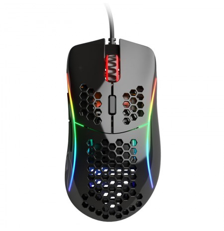 Glorious PC Gaming Race Model D wired mouse (glossy, black)
