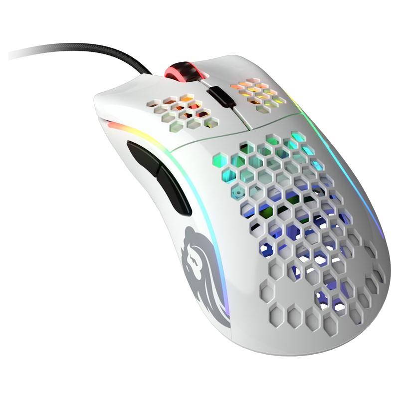 Glorious PC Gaming Race Model D laidinė pelė (blizgi, balta)