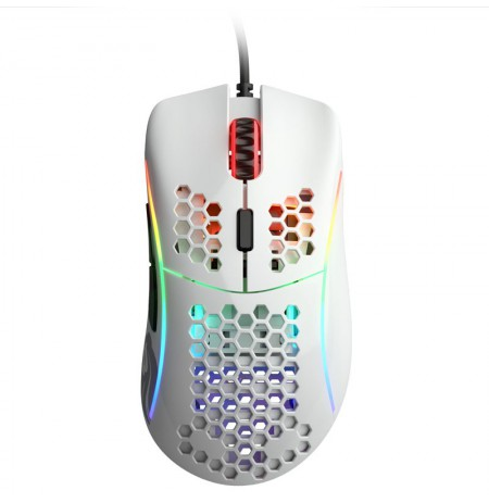 Glorious PC Gaming Race Model D wired mouse (glossy, white)