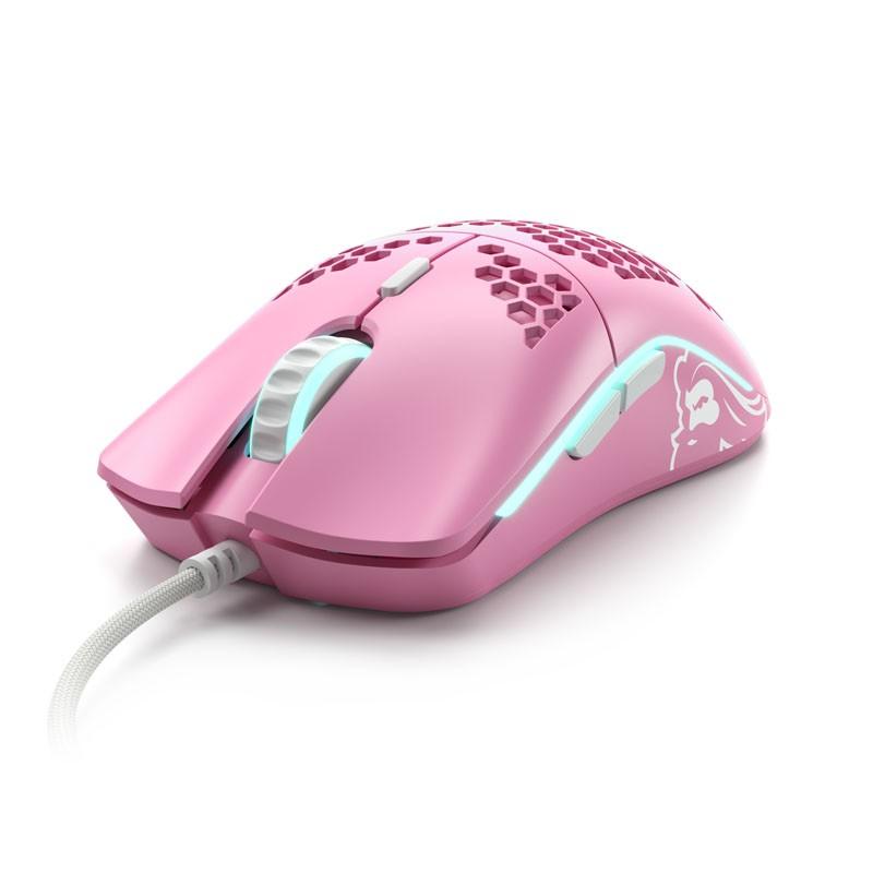Glorious PC Gaming Race Model O- laidinė pelė (matinė, rožinė)