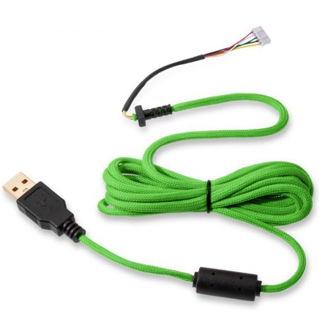 Glorious PC Gaming Race Ascended Cable V2 - GREMLIN GREEN