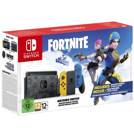 Nintendo Switch Console Fortnite Special Edition V 1.1