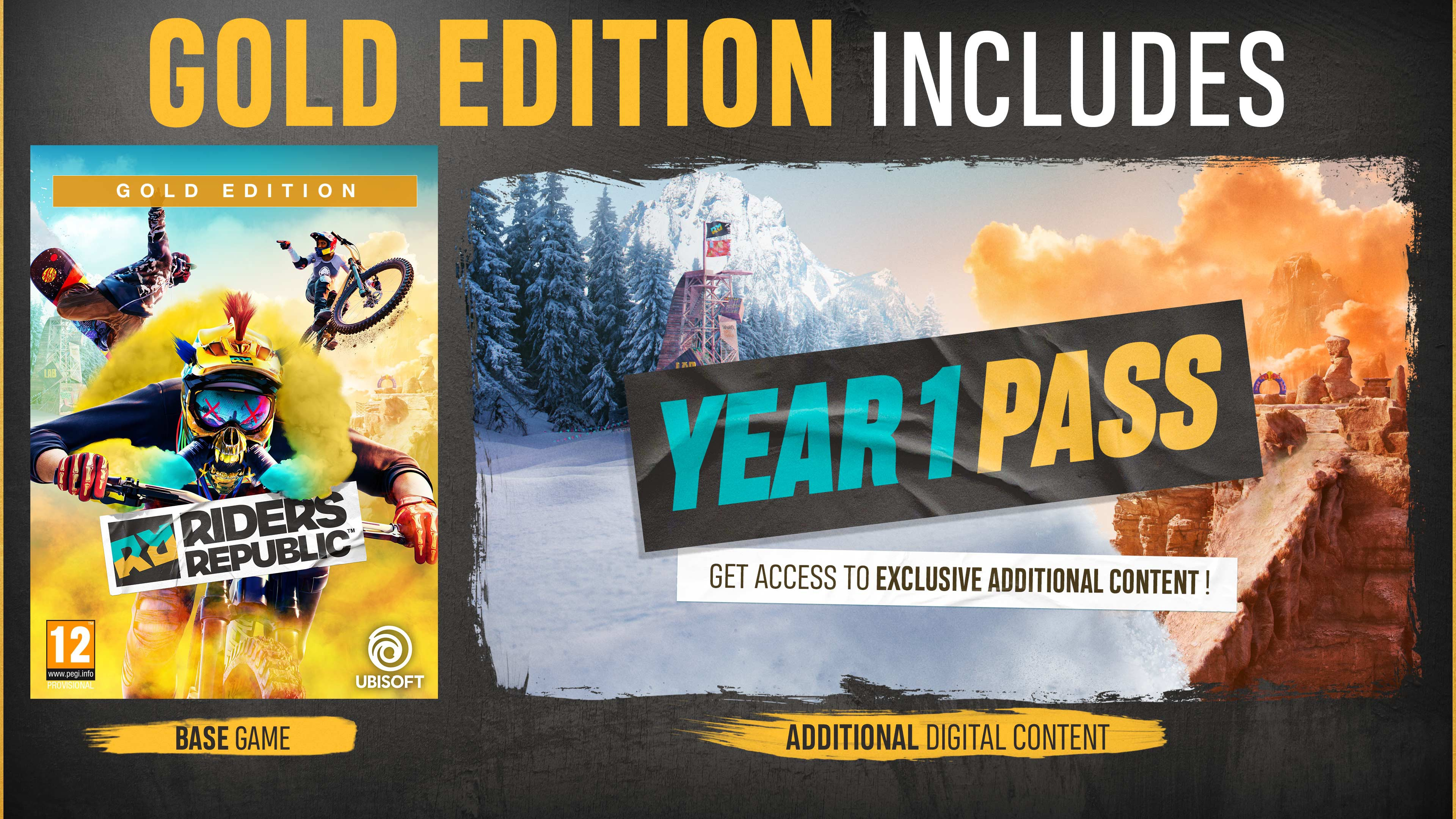 Riders Republic Gold Edition + Pre-Order Bonus