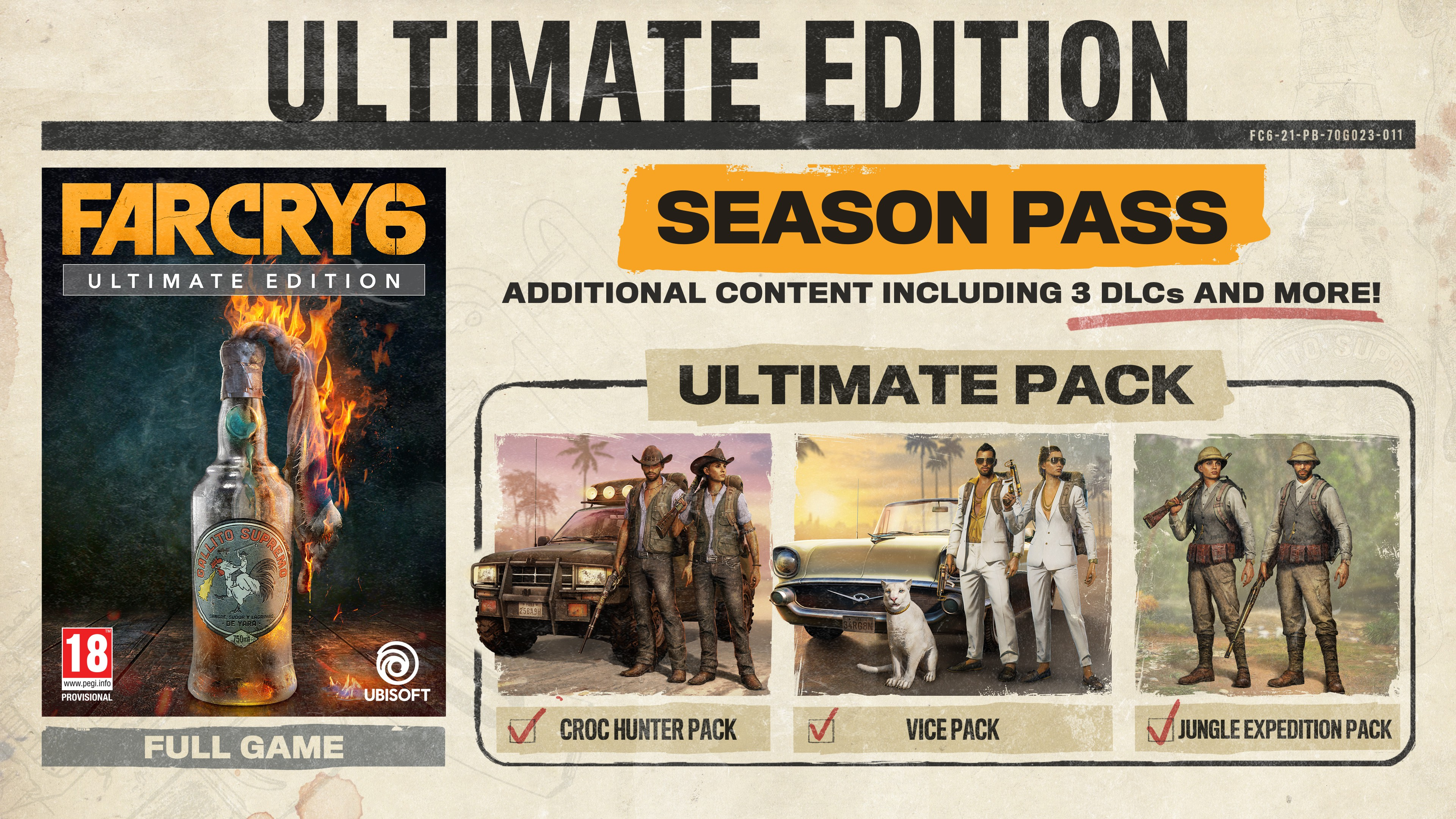 Far Cry 6 Ultimate Edition + Pre-Order Bonus