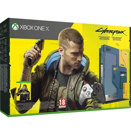 Xbox One X 1TB - Cyberpunk 2077 Limited Edition Console