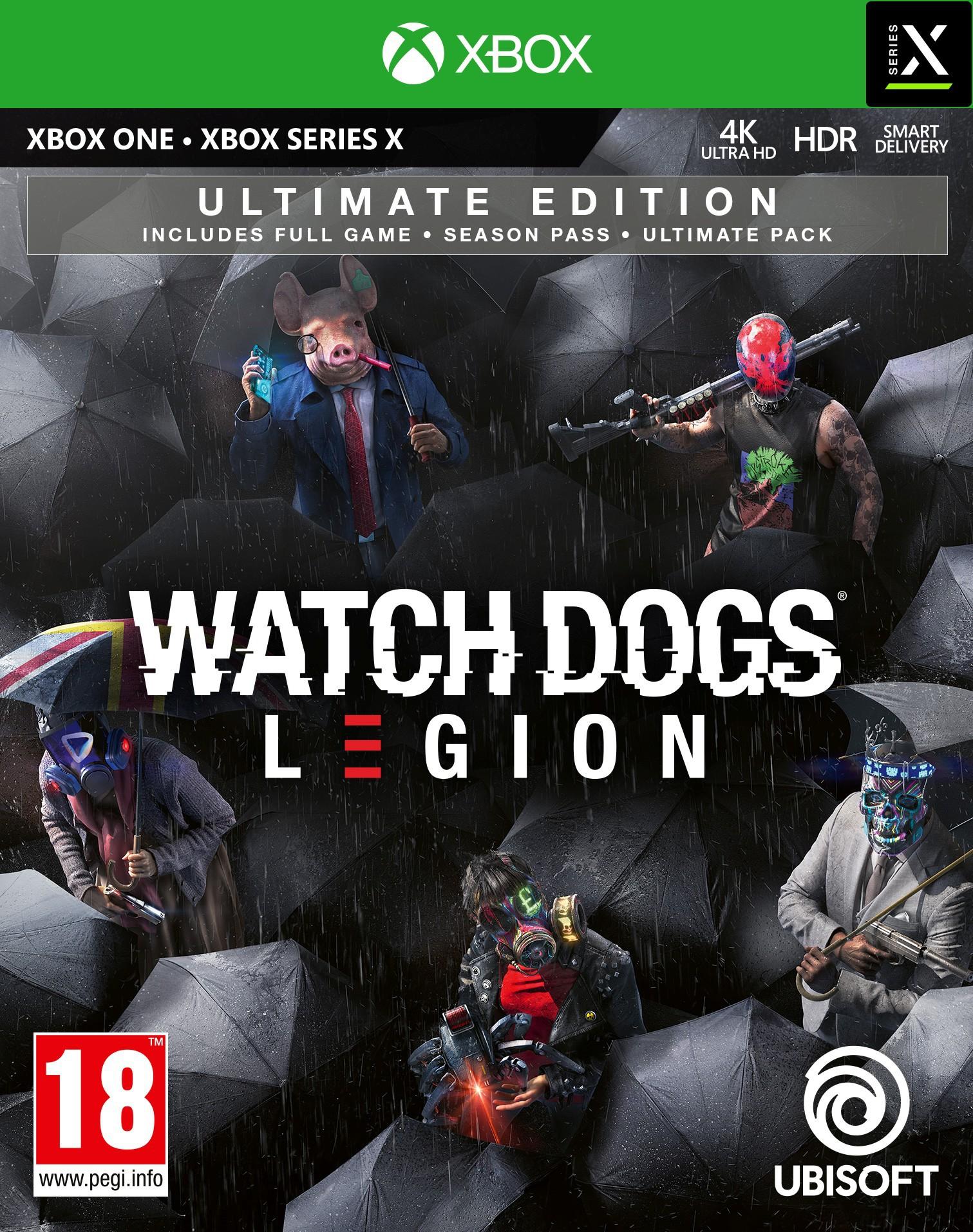 Watch Dogs Legion Ultimate Edition + Pre-Order Bonus