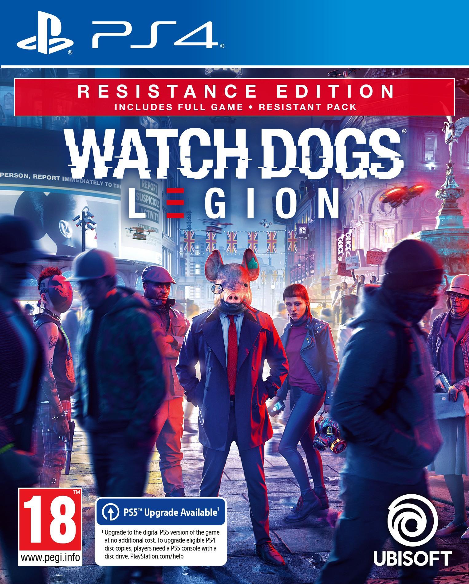 Watch Dogs Legion Resistance Edition + Pre-Order Bonus