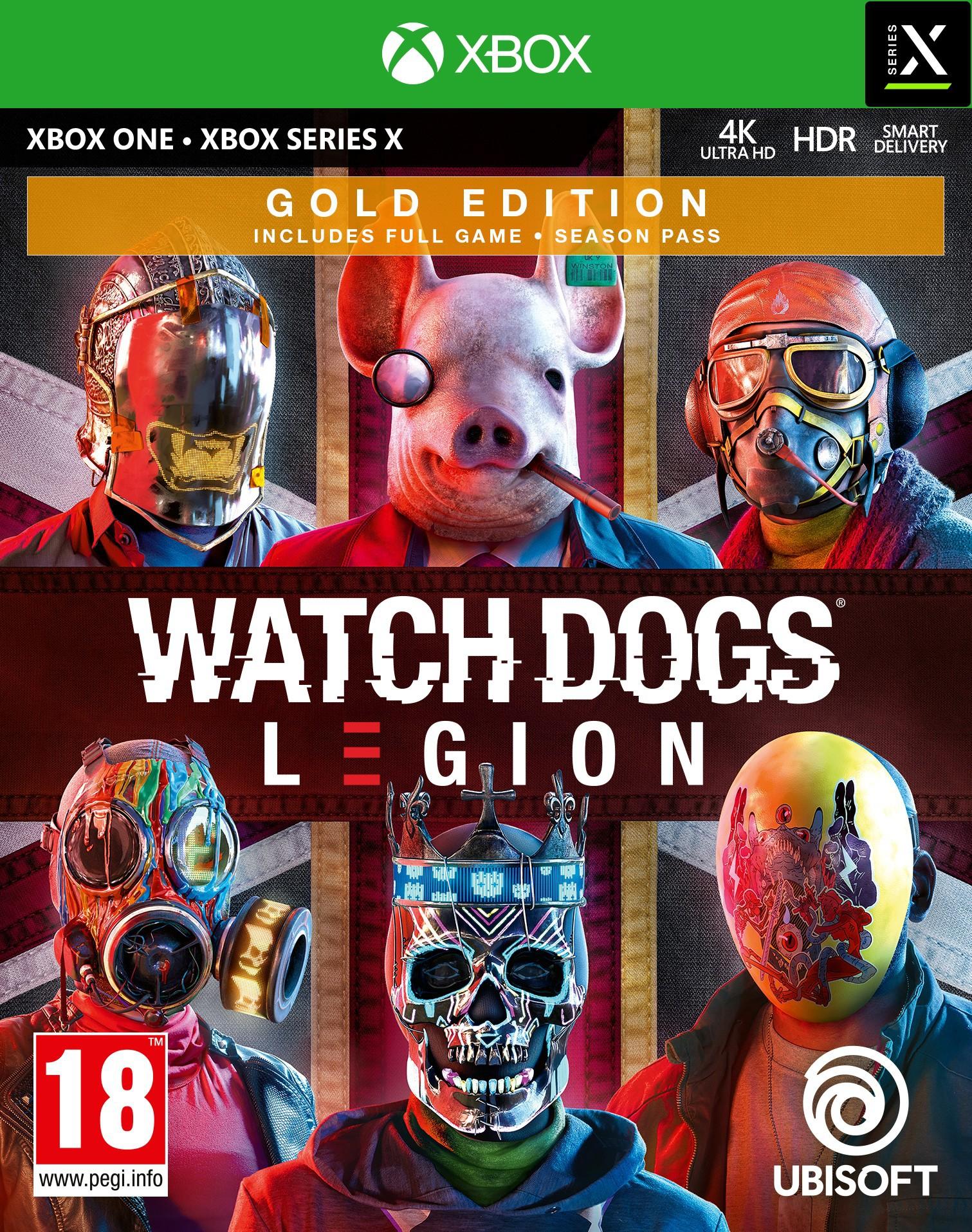Watch Dogs Legion Gold Edition + Pre-Order Bonus