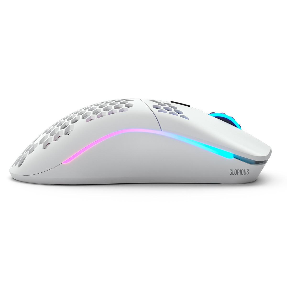 Glorious PC Gaming Race Model O belaidė pelė (matinė, balta) | 19 000 DPI