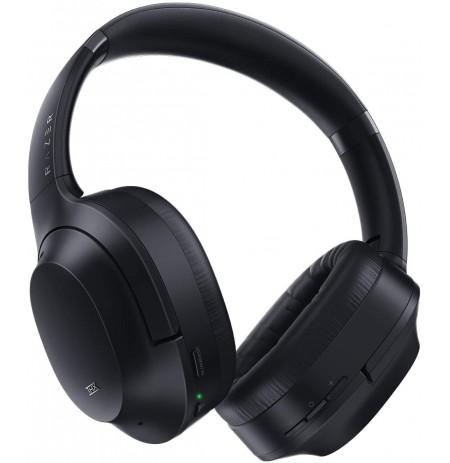 RAZER OPUS juodos belaidės ausinės | Active Noise Cancellation