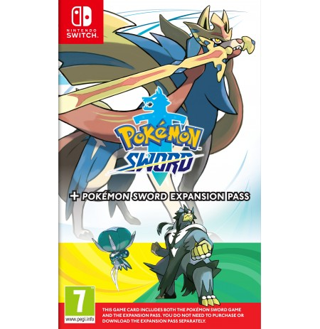Pokemon Sword + Expansion Pass