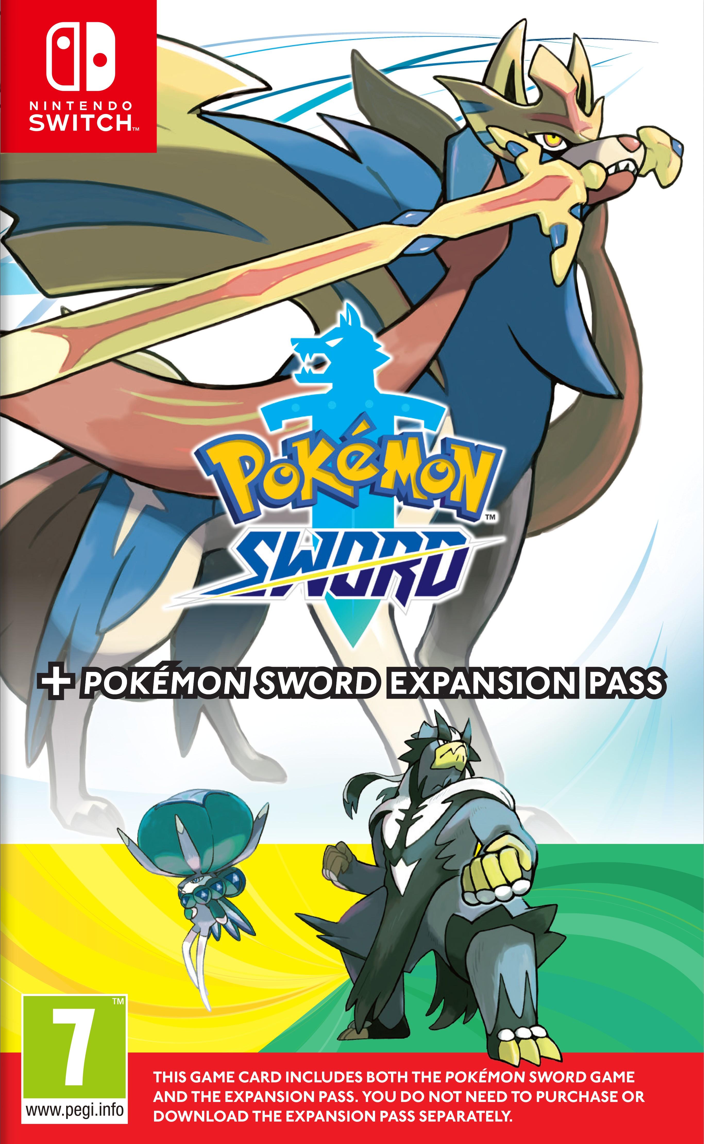 Pokemon Sword + Expansion Pass