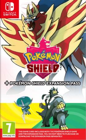 Pokemon Shield + Expansion Pass