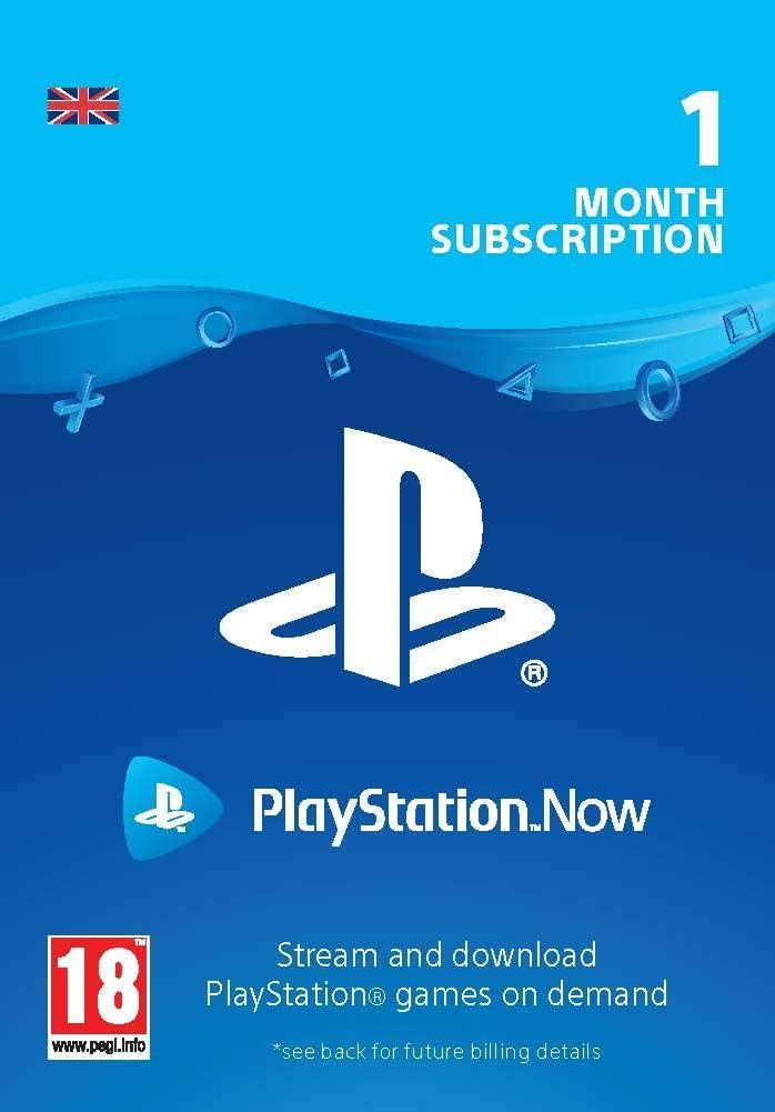 PlayStation Now - Prenumerata 1mėn (Jungtinė karalystė)