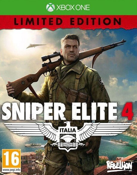 Sniper Elite 4 Limited Edition XBOX