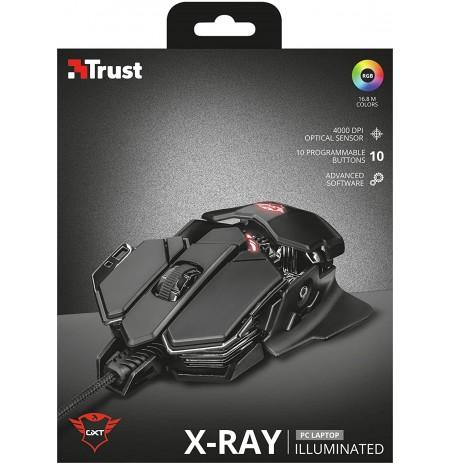 TRUST GXT 138 X-RAY laidinė pelė | 4000 DPI