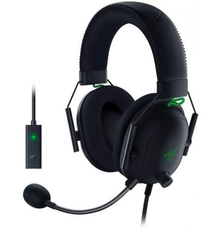 RAZER BlackShark V2 juodos laidinės ausinės su mikrofonu