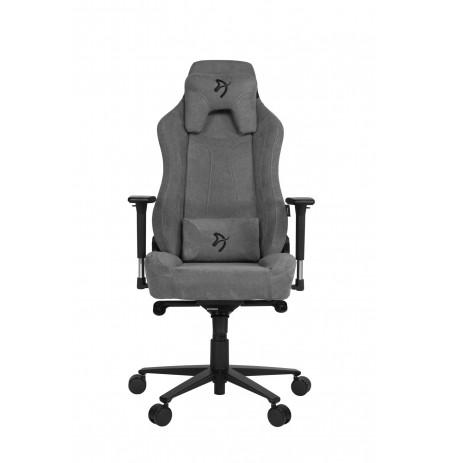 Arozzi VERNAZZA SOFT FABRIC Pelenų spalvos ergonominė kėdė