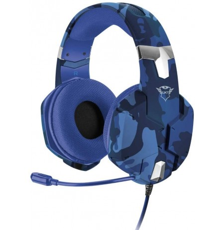 TRUST GXT 322B Carus blue wired headset | PS4/PS5