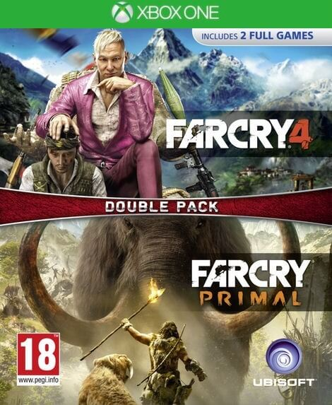 Far Cry Primal and Far Cry 4 Double Pack XBOX