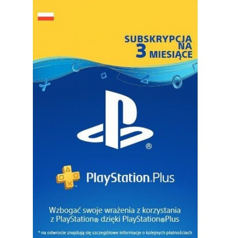 Playstation PLUS Card 90D (Poland)