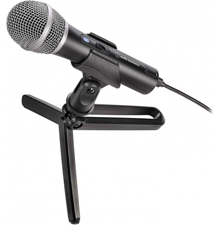 Audio Technica ATR2100x-USB Kondensatorinis Mikrofonas | USB-C/USB-A/XLR