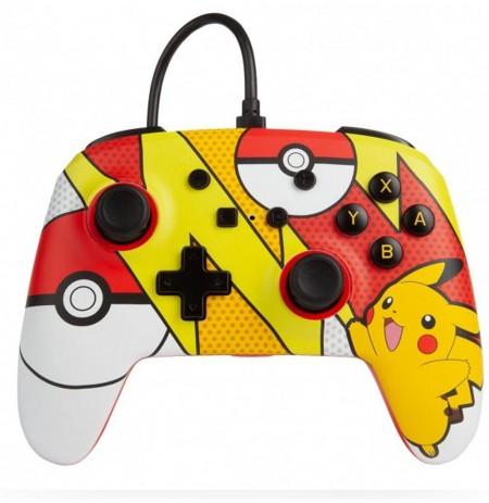 PowerA WIRED Pikachu Pop Art CONTROLLER FOR NINTENDO SWITCH