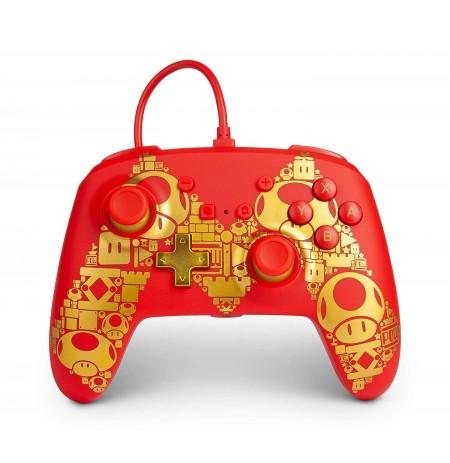 PowerA Super Mario Golden M laidinis valdiklis skirtas Nintendo Switch