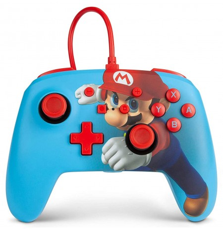 PowerA WIRED Super Mario Punch CONTROLLER FOR NINTENDO SWITCH
