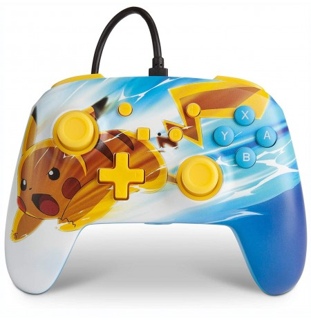 PowerA WIRED Pokemon Pikachu Charge CONTROLLER FOR NINTENDO SWITCH