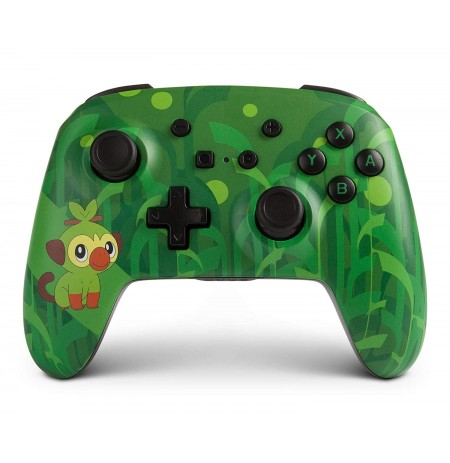 PowerA Enhanced WIRELESS Pokemon Grookey CONTROLLER FOR NINTENDO SWITCH