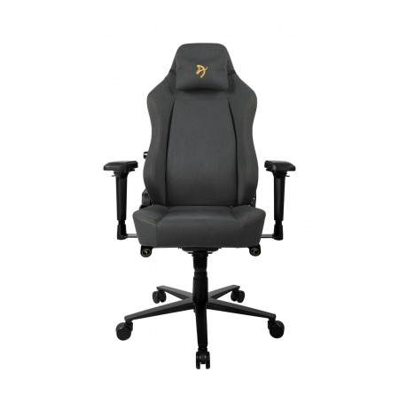 Arozzi PRIMO WOVEN FABRIC black/gold gaming chair