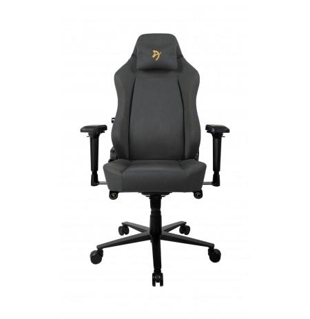 Arozzi PRIMO WOVEN FABRIC juodos/auksinės spalvos ergonominė kėdė