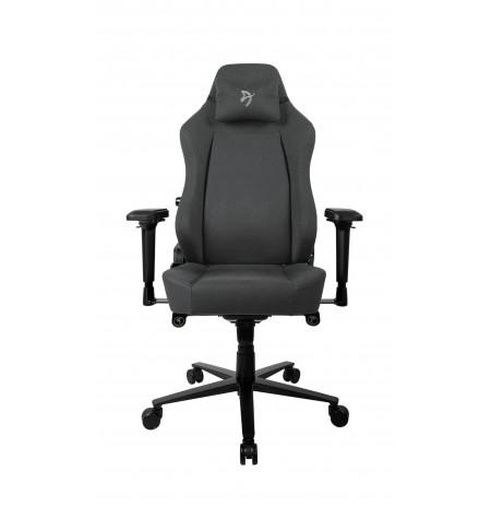 Arozzi PRIMO WOVEN FABRIC juodos/pilkos spalvos ergonominė kėdė