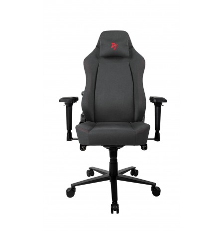Arozzi PRIMO WOVEN FABRIC black/red gaming chair