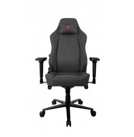 Arozzi PRIMO WOVEN FABRIC juodos/raudonos spalvos ergonominė kėdė