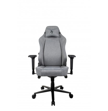 Arozzi PRIMO WOVEN FABRIC grey gaming chair