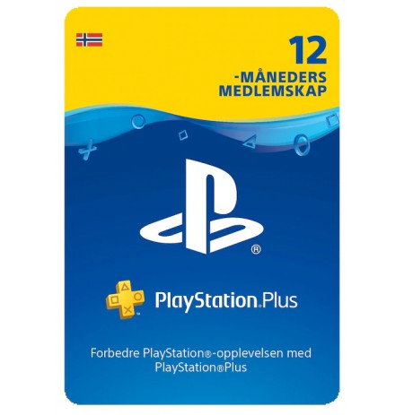 Playstation PLUS Card 365D (Norvegija)