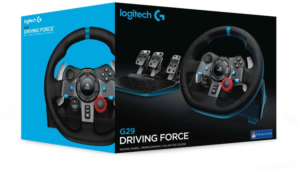 Logitech G29 DRIVING FORCE vairas (PS3/PS4/PC)