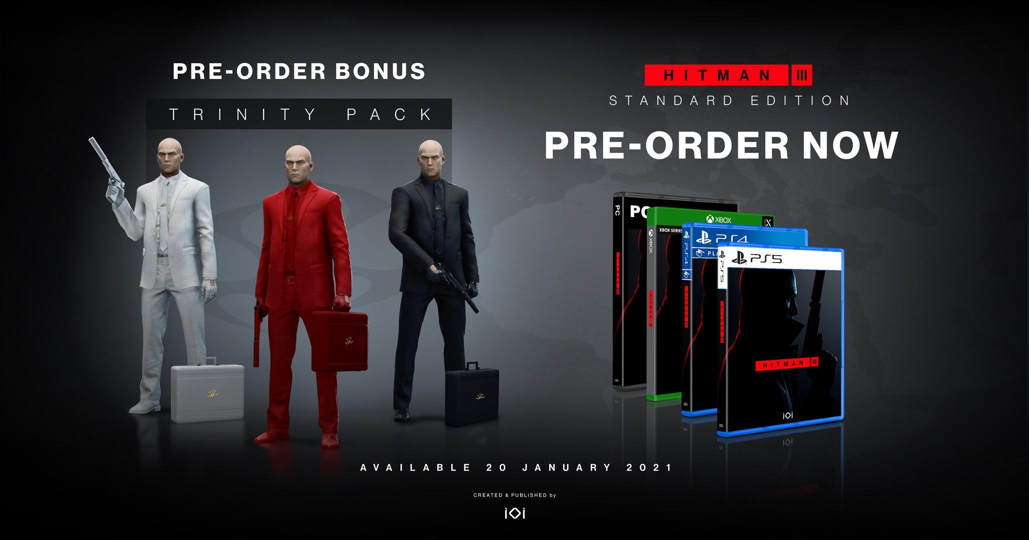 Buy Hitman III Deluxe Edition PS4 game