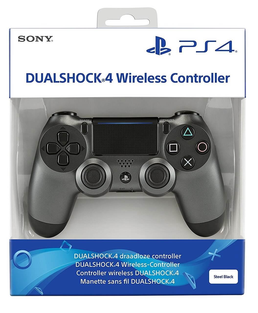 Sony PlayStation DualShock 4 V2 valdiklis - Steel Black XBOX