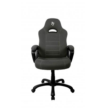 Arozzi ENZO WOVEN FABRIC juodos/pilkos spalvos ergonominė kėdė