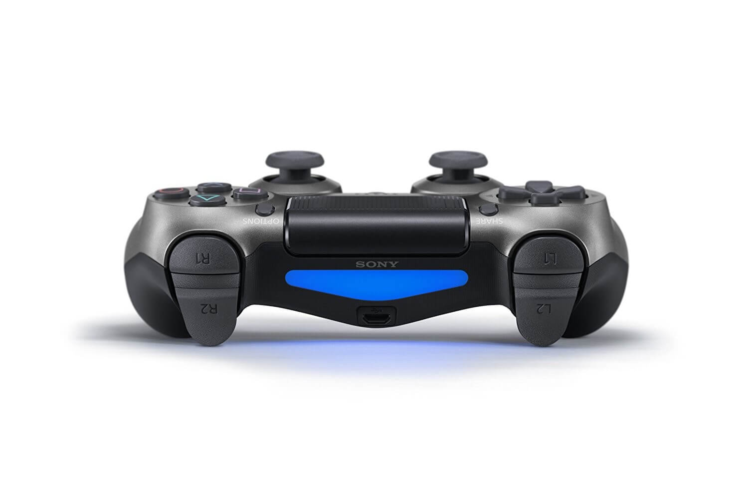 Sony PlayStation DualShock 4 V2 Controller - Steel Black