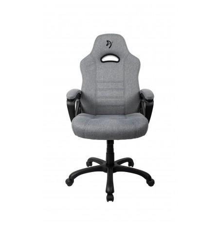 Arozzi ENZO WOVEN FABRIC pilkos/juodos spalvos ergonominė kėdė